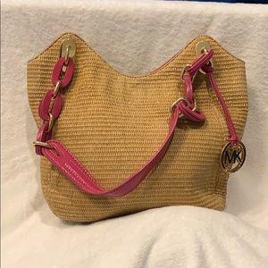 Michael Kors Limited Edition Straw Bag